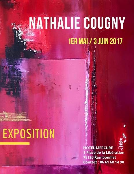 Nathalie Cougny, exposition galerie Hotel Mercure