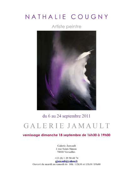 Nathalie Cougny, exposition